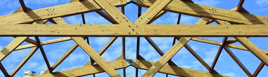 Ossature structure en bois