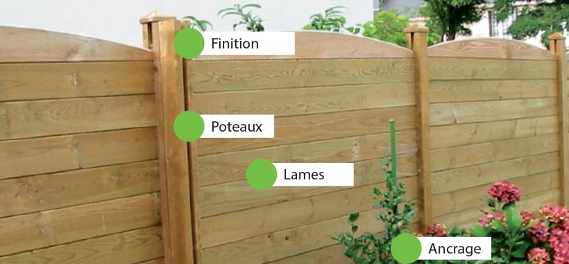 Conseil pose d'une clôture en bois