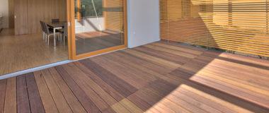 lame terrasse deck bois exotique