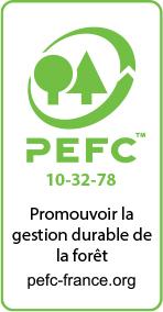 La SEF transforme des bois certifiés PEFC