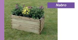 Jardinière en bois - Nabro